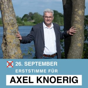 Axel Knoerig holt das Direktmandat