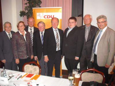 Kreisparteitag in Neubruchhausen: Wilhelm Evers wird Ehrenvorstandsmitglied